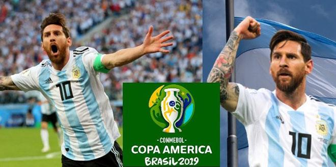 Argentina tranh tài Copa America 2019: Messi lo không được dự World Cup 2022 - 1