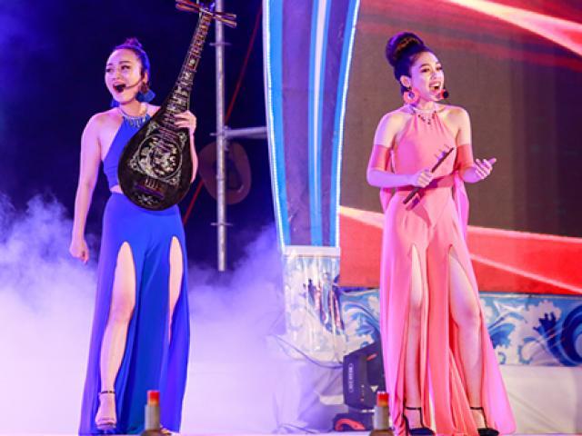 Nhóm nhạc nữ bị chỉ trích mặc phản cảm khi diễn nhạc cụ dân tộc