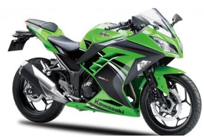 Kawasaki Ninja 300 thêm màu mới, giá không đổi - 1