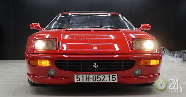 """Ngựa già Ferrari F355 F1 Spider 1999 quý hiếm có """"một không hai"""" tại Việt Nam"""