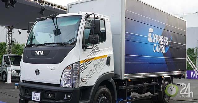 TATA Motors ra mắt dòng xe tải tiện ích, giá thành hợp lý và phù hợp với thị trường Việt Nam