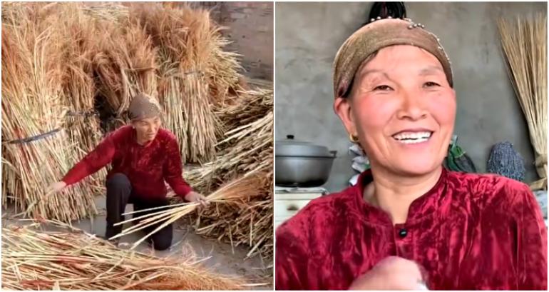 Mẹ đơn thân bị ung thư bán 20.000 cây chổi để con gái được học Đại học - 1