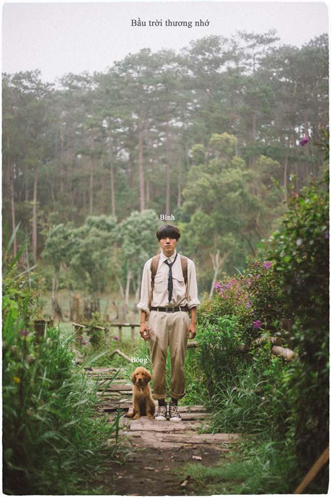 Bộ ảnh 'Cùng cún cưng đi khắp thế gian' của chàng nhiếp ảnh trẻ Đà Lạt gây 'sốt' - 1