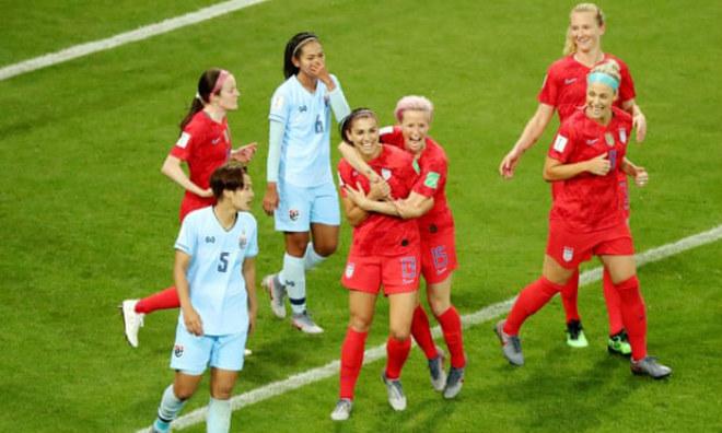 Mỹ - Thái Lan: Kinh hoàng 13 bàn, bắn phá tưng bừng (World Cup nữ) - 1