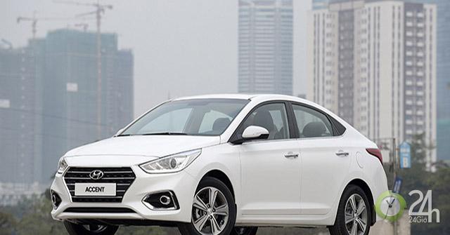 Accent là xe bán chạy nhất của Hyundai tại Việt Nam trong tháng 5/2019
