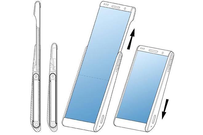 Samsung phát triển smartphone gập lại độc hơn Galaxy Fold - 1