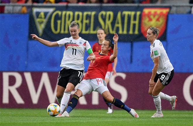 Đức - Tây Ban Nha: Đôi công rực lửa, chớp cơ hội vàng (World Cup nữ) - 1
