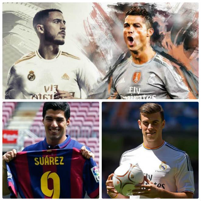 """10 năm """"bom tấn"""" Ngoại hạng Anh tới Liga: Hazard có """"ngon"""" như Ronaldo? - 1"""