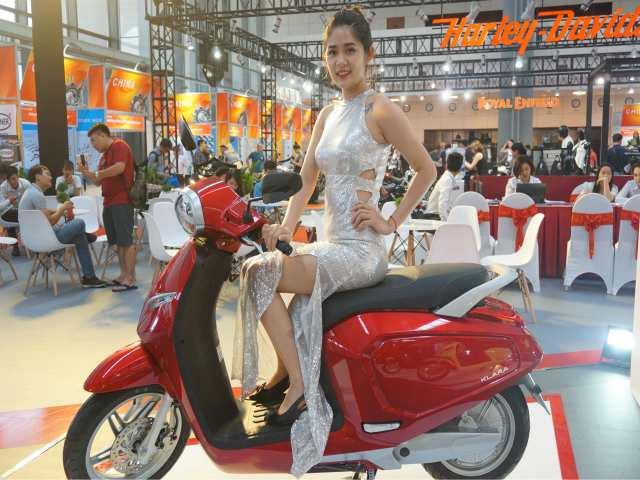 Xe ga Việt VinFast Klara khoe sắc lung linh tại Vietnam AutoExpo 2019