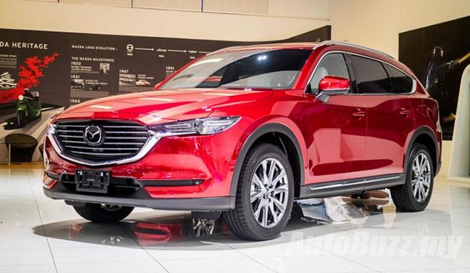 Mazda CX-8 đã có lịch ra mắt chính thức tại Việt Nam, giá bán từ 1,149 tỷ đồng - 1