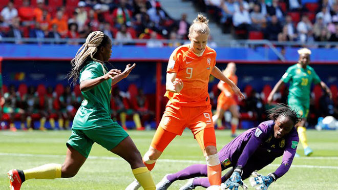 Hà Lan - Cameroon: Ba phút 2 bàn, siêu phẩm định đoạt (World Cup nữ) - 1