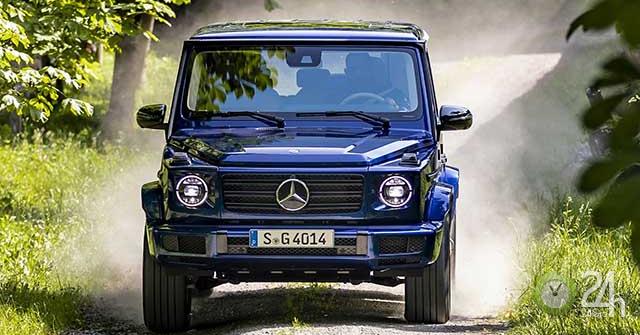 """Mercedes-Benz kỷ niệm 40 năm dòng xe G-Class với phiên bản đặc biệt có tên """"Stronger Than Time"""""""
