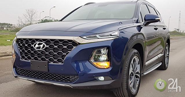 Bảng giá xe Hyundai SantaFe 2019 lăn bánh mới nhất - Cơ hội sở hữu xe ô tô giá tốt nhất trong năm