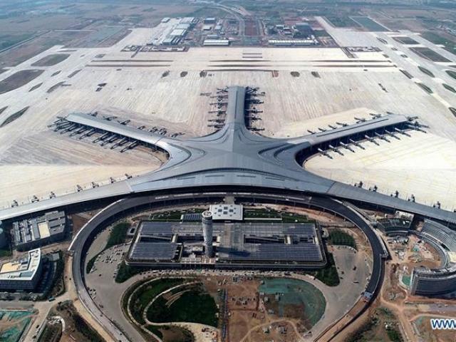 Choáng ngợp với Sân bay quốc tế Thanh Đảo của Trung Quốc