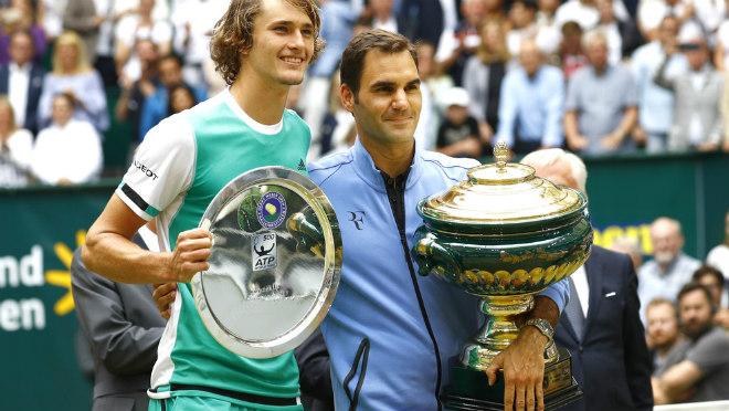 """Rực lửa giải tiền Wimbledon: Vua Federer & kỳ tích """"siêu to khổng lồ"""" - 1"""