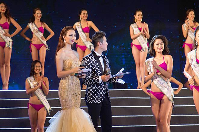 Hoa hậu Ngọc Diễm tất bật chạy show trước khi rời showbiz - 1