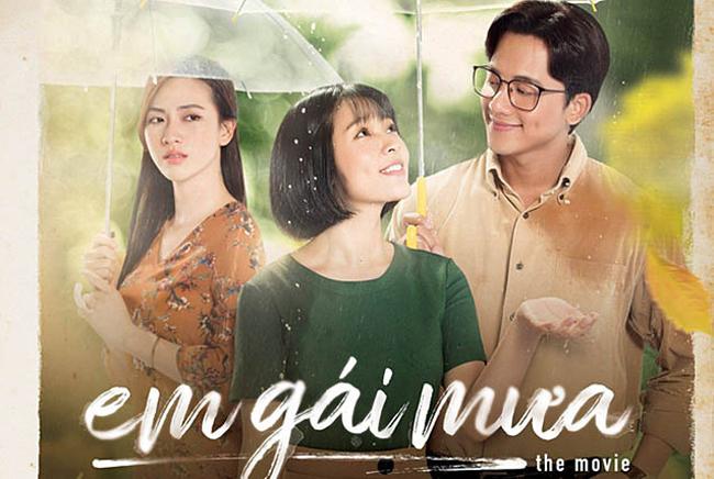 """Trong phiên bản phim ngắn """"Em gái mưa"""", Mai Tài Phến đóng cặp với Thùy Linh."""