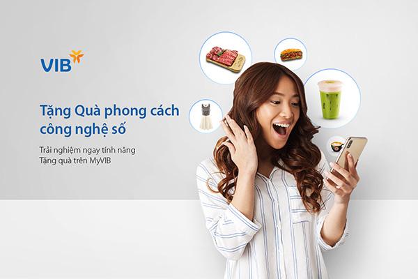 VIB: 900 E - voucher miễn phí cho khách sử dụng dịch vụ quà tặng trên MyVIB - 1
