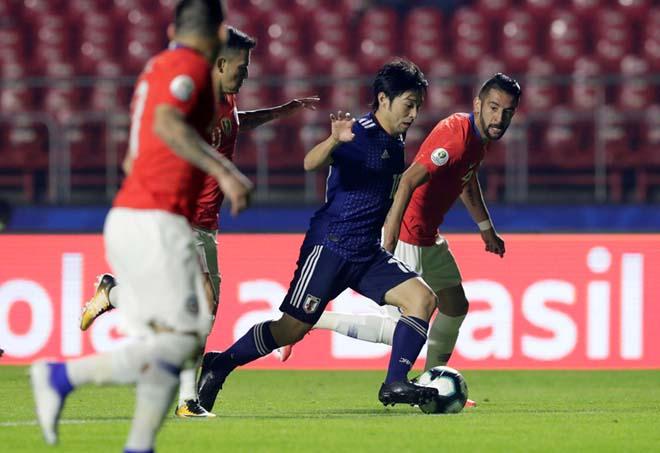 """Nhật Bản - Chile: Sanchez góp công, tan nát """"Samurai xanh"""" (Copa America) - 1"""