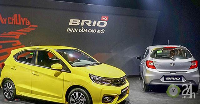 Bảng giá xe Honda Brio 2019 lăn bánh tại các đại lý - Bản thấp nhất chỉ từ 468 triệu đồng