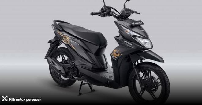 """Honda Beat Street nhận """"màu áo"""" mới, giá 27 triệu đống - 1"""