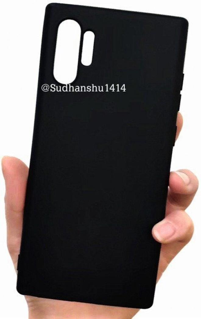 Ốp lưng Galaxy Note 10 Pro xác nhận nhiều chi tiết đáng xem - 1