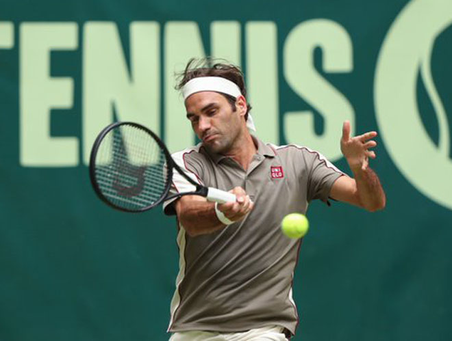 "Federer - Millman: Set 1 ""tra tấn"", bừng bừng cơn thịnh nộ - 1"
