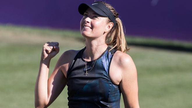 """""""Nữ hoàng"""" Sharapova trở lại đỉnh cao: Tung chiêu bóng xoáy """"chết cỏ"""" - 1"""