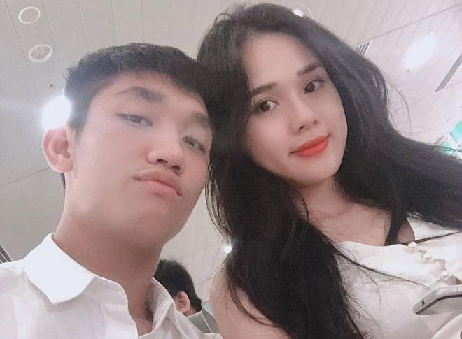 Trọng Đại U23 được bạn gái hot girl nịnh yêu cực ngọt - 1