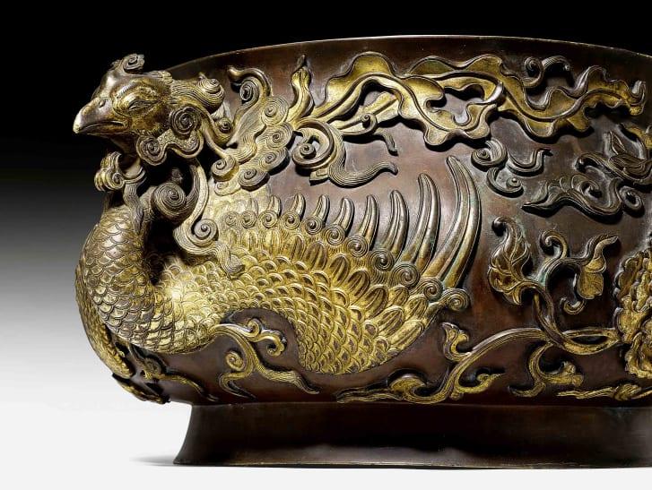 Lư hương của hoàng đế Trung Hoa được bán giá với giá kỷ lục - 1