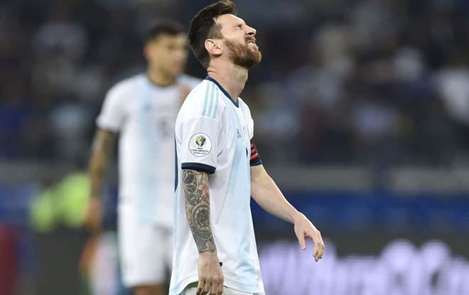 Argentina lâm nguy Copa America: Báo chí thất vọng Messi, lo thảm họa Qatar - 1