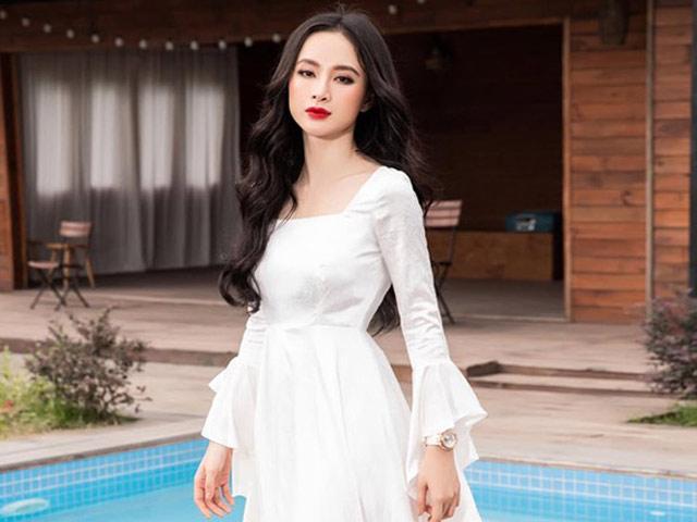 Top đẹp tuần: Angela Phương Trinh xứng điểm 10 với đầm tiểu thư