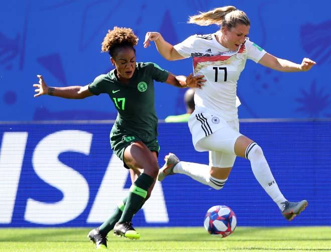 Đức - Nigeria: Phủ đầu kinh hoàng, giật vé tứ kết (World Cup nữ) - 1
