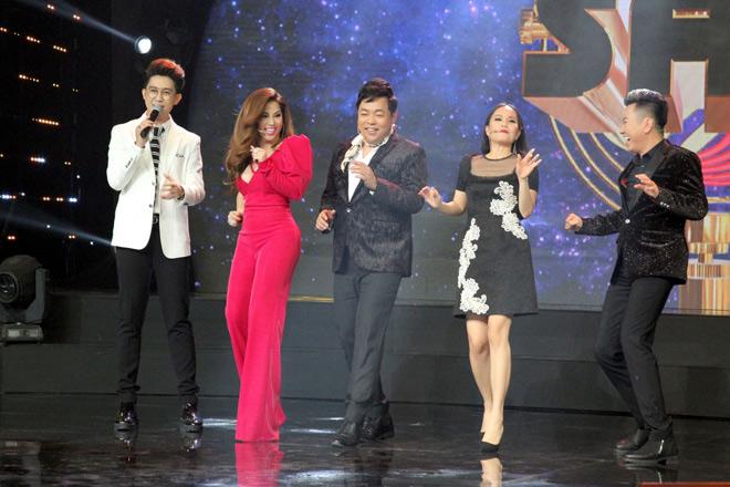 2 cô gái xinh đẹp khiến Quang Lê vội vã làm điều này trên truyền hình - 1