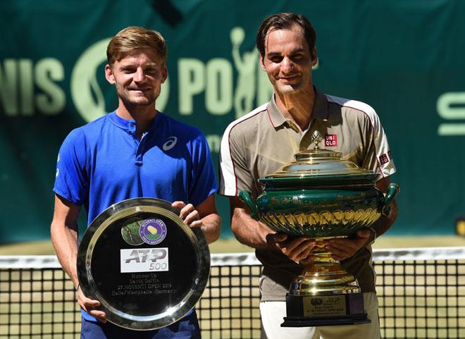 """Federer chạy đà tốt Wimbledon: Đua Grand Slam 2019 thành thế """"Tam quốc""""? - 1"""