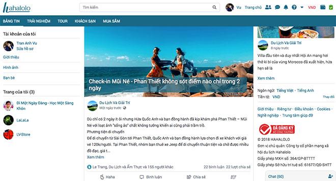 Thêm một trang mạng xã hội đặt phòng hữu ích cho giới trẻ ưa xê dịch - 1