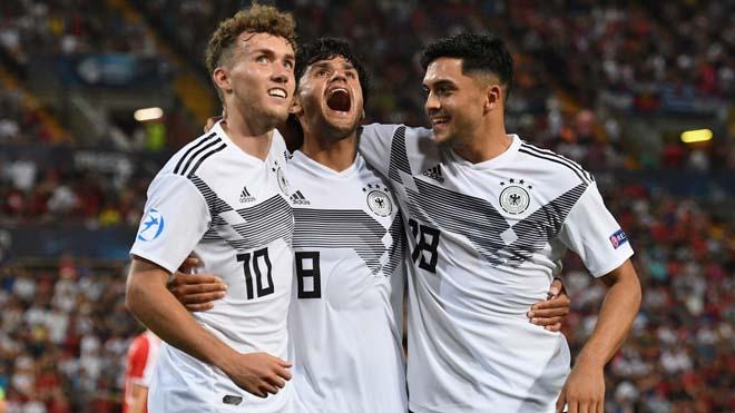 U21 Đức - U21 Áo: Nghẹt thở penalty, vé bán kết xứng đáng - 1
