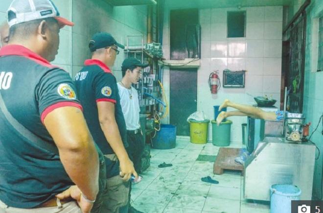 Philippines: Nam thanh niên chết thảm khi bị cuốn vào máy xay thịt - 1