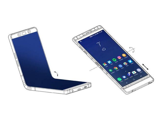 Samsung sẽ thu nhỏ Galaxy Fold 2, thiết kế gập ngang như Motorola RAZR