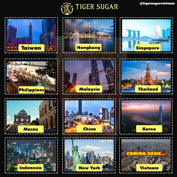 Bùng nổ khai trương cửa hàng trà sữa Tiger Sugar chính gốc tại Việt Nam - 1
