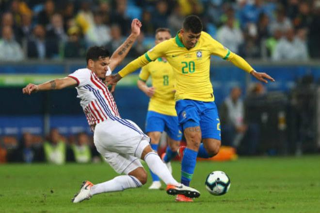 """Brazil """"đấu súng"""" hạ Paraquay: Bản lĩnh """"vũ công Samba"""", triệu fan vỡ òa Copa America - 1"""