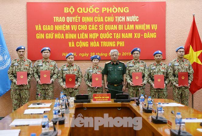 Thêm 7 sĩ quan Việt Nam đi gìn giữ hoà bình Liên hợp quốc - 1