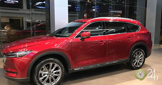 Bảng giá xe Mazda CX-8, mẫu crossover đáng mua nhất trong phân khúc tại Việt Nam