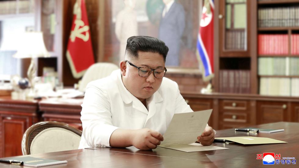 Phản ứng bất ngờ của Kim Jong-un trước đề nghị gặp tại DMZ của Trump - 1