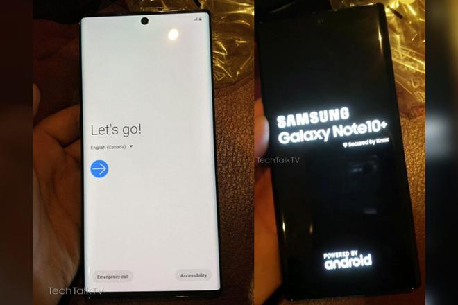 HOT: Chưa ra mắt, Galaxy Note 10+ đã lộ ảnh trên tay - 1