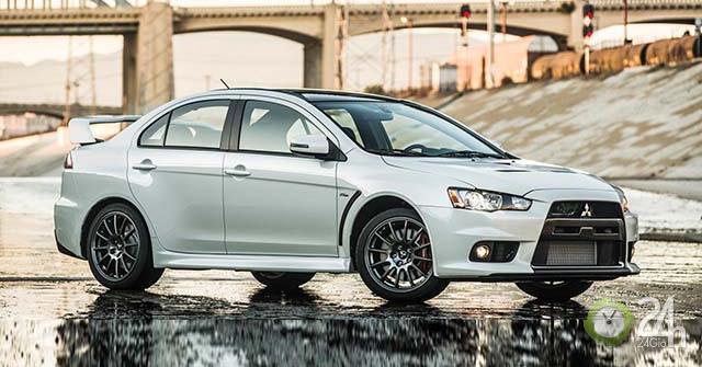 Mitsubishi đự định sẽ hồi sinh lại mẫu sedan thể thao Lancer Evolution