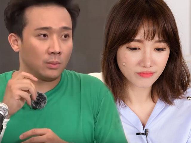 Trấn Thành 'ê mặt' trên sóng truyền hình vì làm điều này với Hari Won