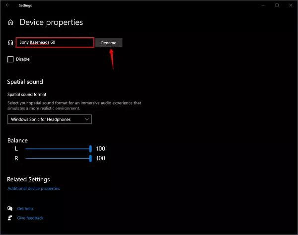 Cách đổi tên các thiết bị phát âm thanh trên Windows 10 - 1