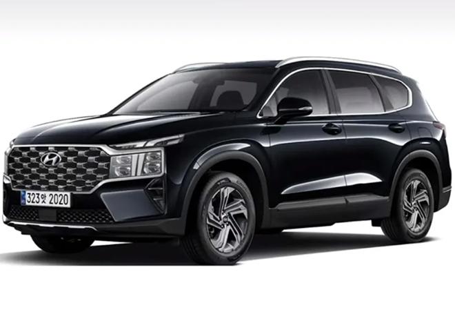 Hyundai SantaFe rò rỉ hình ảnh phác thảo thiết kế bản nâng cấp mới - 1