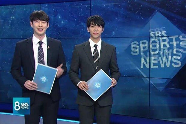 """""""Tôn Ngộ Không"""" từng đến thăm nhà HLV Park Hang Seo bất ngờ dẫn sóng thời sự - 1"""